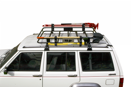 Jeep Cherokee Xj Gutter Mounted Safari Sport Roof Rack