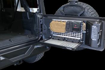 Jeep JL / JLU Tailgate Table Storage System