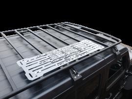 Full MAXTRAX & RotopaX Mount System (Brushed Aluminum)