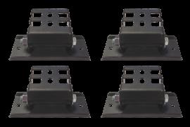 """Universal 2"""" Platform Rack Mount Kit (Set of 4)"""