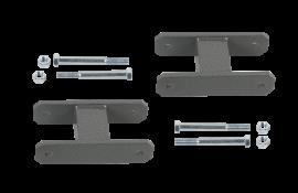 "Heavy Duty Leaf Spring Shackle Kit (1-1/2"" Lift)"