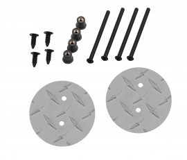 Jeep JK/JKU Mirror Mount Hole Plug Kit