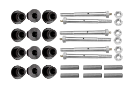 Jeep YJ Greaseable Bolt & Bushing Kit for Warrior Shackle Reverse System SR 180-3