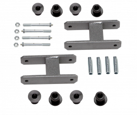 """Heavy Duty Greaseable Leaf Spring Shackle Kit (1"""" Lift)"""
