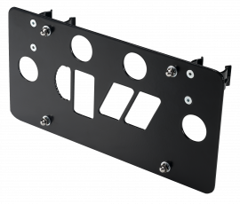 Universal Roller Fairlead License Mount