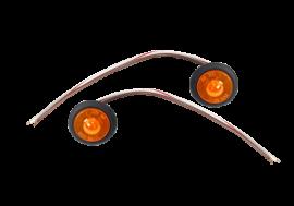 "Universal 1"" Amber Sidemarker LED"