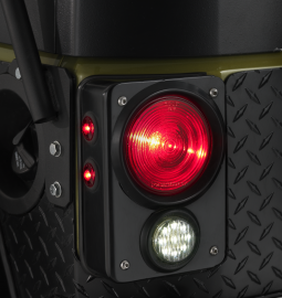 Jeep JK/JKU Steel LED Tail Light Housing for Tail Lights & Backup Lights