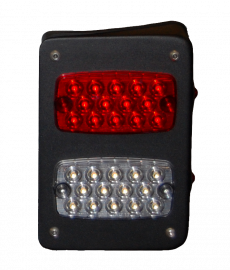 Jeep JK/JKU Steel LED Tail Lights (Rect.)