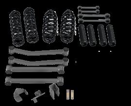 "Jeep JK / JKU 3"" Lift Kit without Shocks"