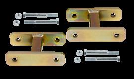 "Heavy Duty Leaf Spring Shackle Kit (1"" Lift)"
