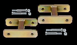 "Heavy Duty Leaf Spring Shackle Kit (1/2"" Lift)"