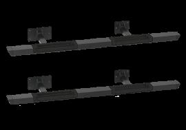 Toyota FJ Cruiser Rock Bars w/ Black Diamond Tread Step