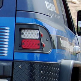 Toyota FJ Cruiser Steel LED Tail Lights
