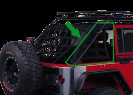 Jeep JKU Side Cage Netting