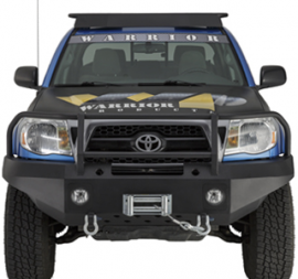 Toyota Tacoma Front Winch Bumper w/ Brush Guard & D-Ring Mounts