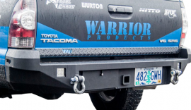 Toyota Tacoma Rear Hitch Bumper w/ D-Ring Mounts