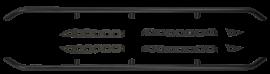 Jeep JKU Renegade Rails DIY Kit w/ Steps