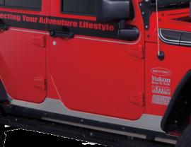 Jeep JKU HD Aluminum Rubicon Sideplates
