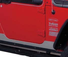 Jeep JK HD Aluminum Rubicon Sideplates
