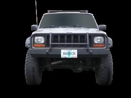 Jeep XJ Contour Front Bumper w/ Brushguard & D-Ring Mounts (Gen.2)