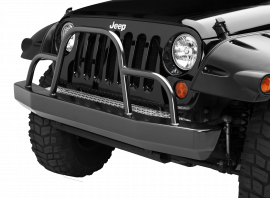 Jeep JK / JKU Rock Crawler Front Bumper w/ Brush Guard