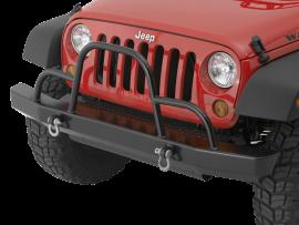 Jeep JK / JKU Rock Crawler Front Bumper w/ Brush Guard & D-Ring Mounts