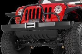 Jeep JK / JKU Rock Crawler Front Winch Bumper w/ Brush Guard