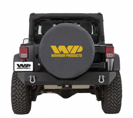 Jeep JK/JKU Rear Rock Crawler Bumper w/ D-Ring Mounts