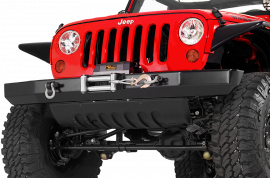 Jeep JK/JKU Front Rock Crawler Winch Bumper  with D-Ring Mounts