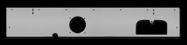 Jeep CJ5/CJ7/CJ8 Dashboard w/ Speaker Cutouts