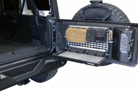 Jeep JL / JLU Tailgate Table Storage System