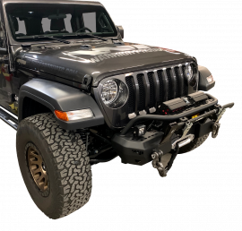 Jeep JL / JLU / JT MOD Series Stubby Bumper with Brush Guard