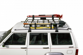 Jeep Cherokee XJ Gutter Mounted Safari Sport Roof Rack
