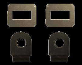 "Weld-On D-Ring Mount Kit (7/8"" Pin)"