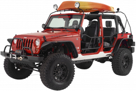 Jeep Wrangler JK/JKU Watercraft Rack