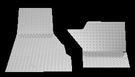 Jeep CJ5 Floor Board Overlay