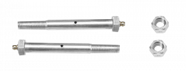 "9/16"" x 4"" Greaseable Bolt Kit (Pair)"