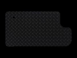 Inner Door Panel in Black Diamond Plate