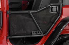 Rear Mesh Cover for Warrior Tube Doors