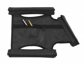 Jeep JKU Rear Black Padding Kit for Warrior Tube Doors