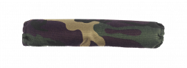 """18"""" Long Roll Bar Padding for 1-1/2"""" Round Tube (Camo)"""