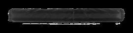 "24"" Long Roll Bar Padding for 1-1/2"" Round Tube (Black)"