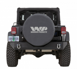 "Black WP Spare Tire Cover (37"" Tire)"