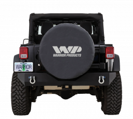 "Black WP Spare Tire Cover (35"" Tire)"