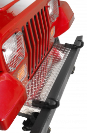 """Jeep TJ/LJ Front Frame Cover for Warrior 3"""" Tube Bumpers"""