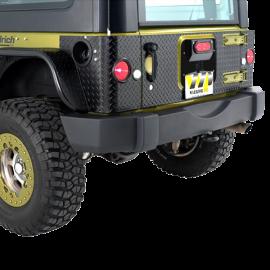Jeep JK/JKU Inner Tailgate Cover Kit for Warrior LED 3rd Brake Light