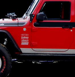 Jeep JK Sideplates (2 Door)