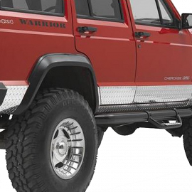 Jeep XJ Sideplates (2 Door)
