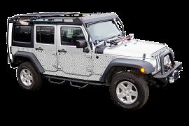 Jeep Wrangler JKU Full Side Armor (4 Dr.)