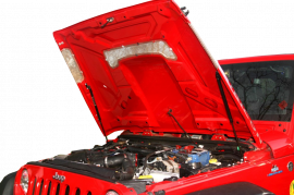 Jeep Wrangler JK / JKU HoodLift & Tailgate Strut Combo Kit (AEV Hood)